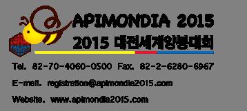 Apimondia 2015