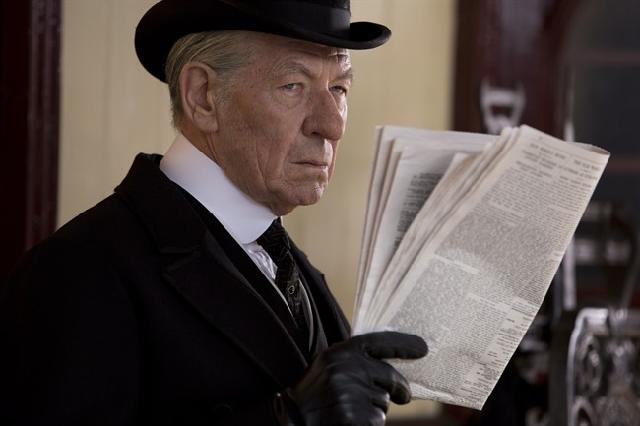 CATCH THE BUZZ – Ian McKellen Befriends Honey Bees For Sherlock Role In 'Mr. Holmes'