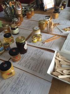 My honey study table