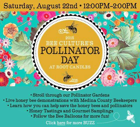 CATCH THE BUZZ – Experience Pollinator Day at the A. I. Root Company in Medina, Ohio.