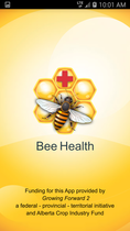 CATCH THE BUZZ – Alberta Agriculture Releases Phase 1 of Bee Health App, and it's Free