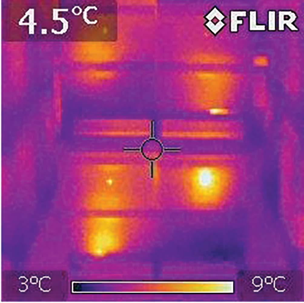 FLIR E6/i7 IR Image Quality, Wintering Shed.