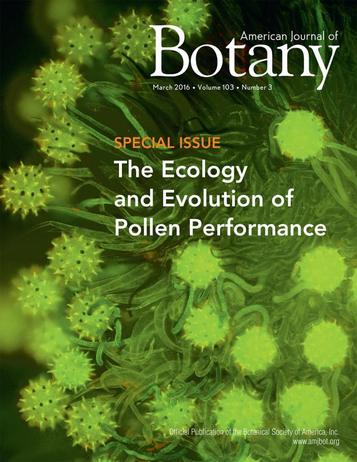 CATCH THE BUZZ – Small but not Forgotten: New Ideas on Pollen's Ecology and Evolution American Journal of Botany Special Issue Explores Latest Research on Pollen Performance
