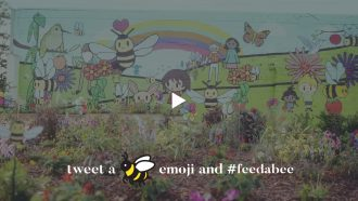 CATCH THE BUZZ – The Wildlife Society Partners with Feed a Bee to Plant 25 Million Flowers