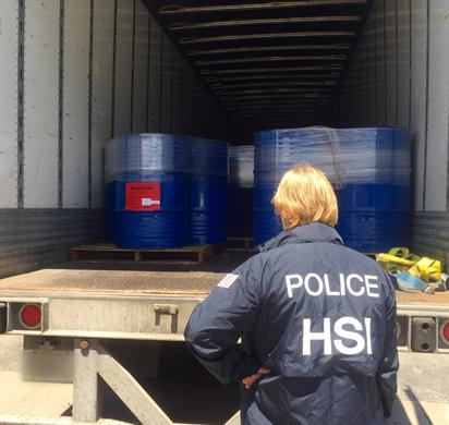 CATCH THE BUZZ – HSI Chicago seizes nearly 60 tons of honey illegally imported from China, AGAIN!!!