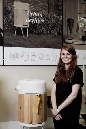 CATCH THE BUZZ – New Hive created by a designer, not a biologist.