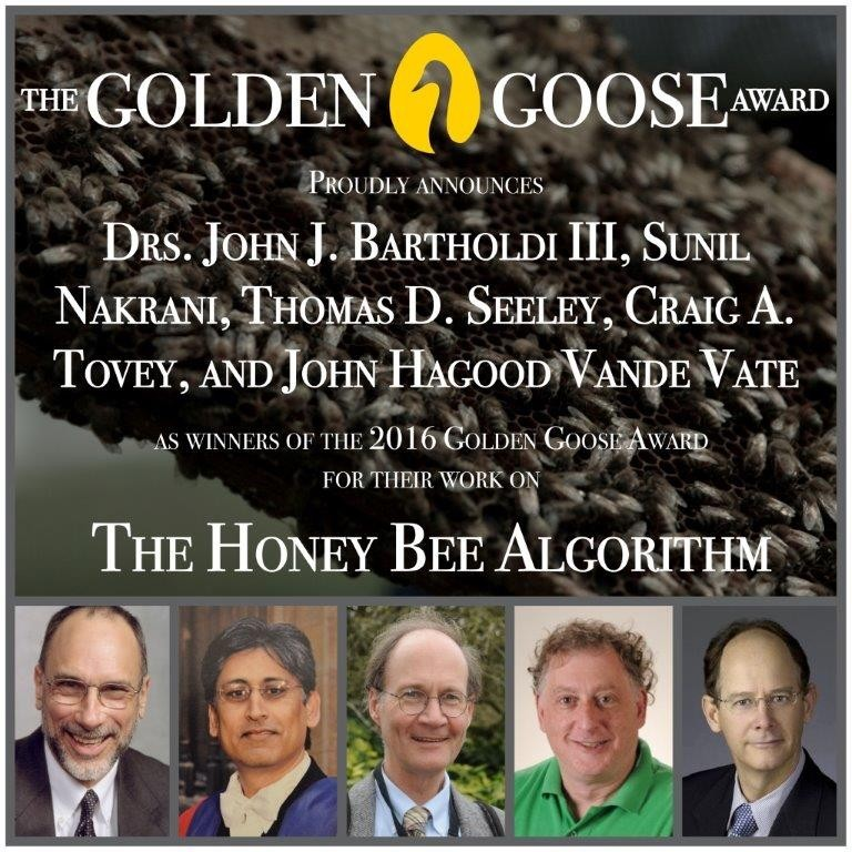 CATCH THE BUZZ – Golden Goose Award Goes to Scientists Who Use Bees for Web Hosting
