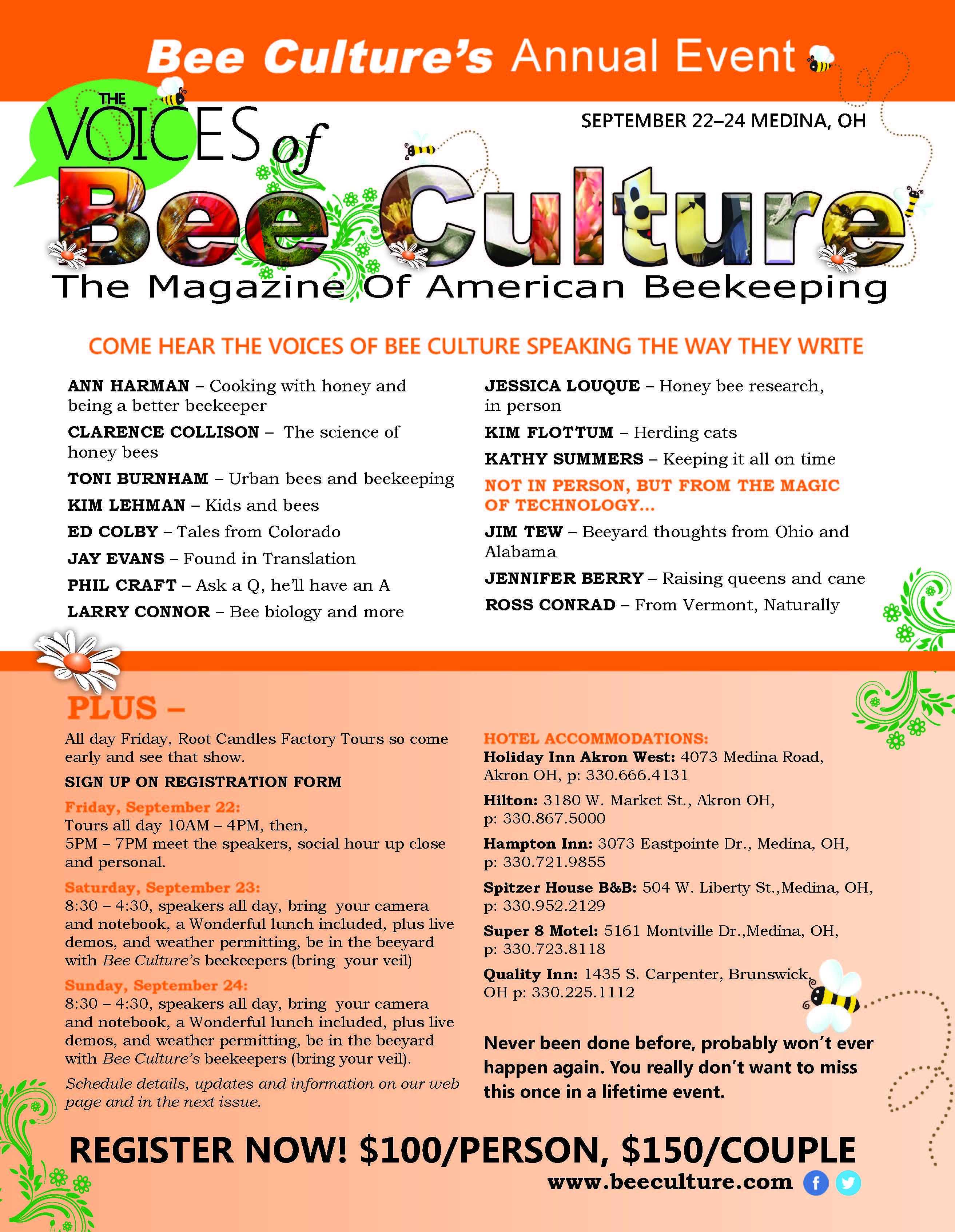 CATCH THE BUZZ – Come Listen to The Voices of Bee Culture