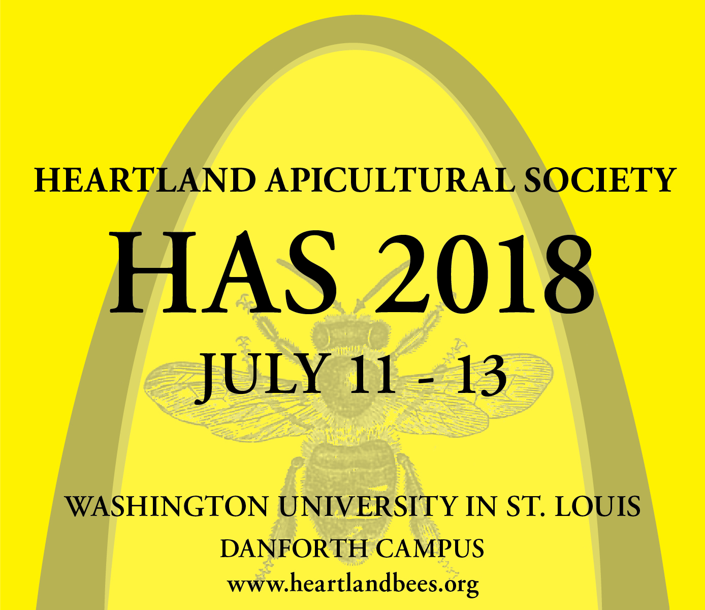 CATCH THE BUZZ – HAS at Washington University in St. Louis, on July 11-13.