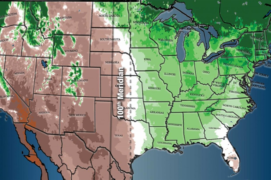 CATCH THE BUZZ – The Dry, Arid West Is Moving East.