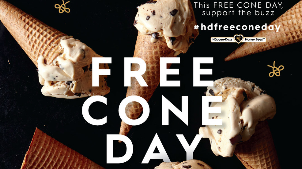 CATCH THE BUZZ – Häagen-Dazs Free Cone Day Is Here. Never Say No To Free Ice Cream!!!