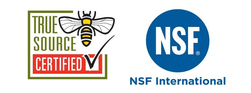 CATCH THE BUZZ – First Honey Products Clear NSF Certification.