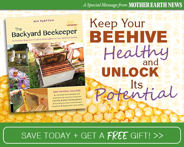 CATCH THE BUZZ – Be the Best Beekeeper says Mother Earth News!
