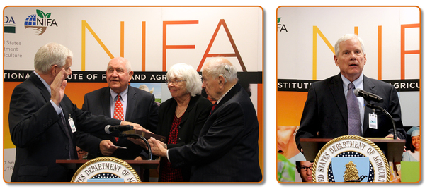CATCH THE BUZZ – Dr. Angle Begins Term as Director at USDA's National Institute of Food and Agriculture