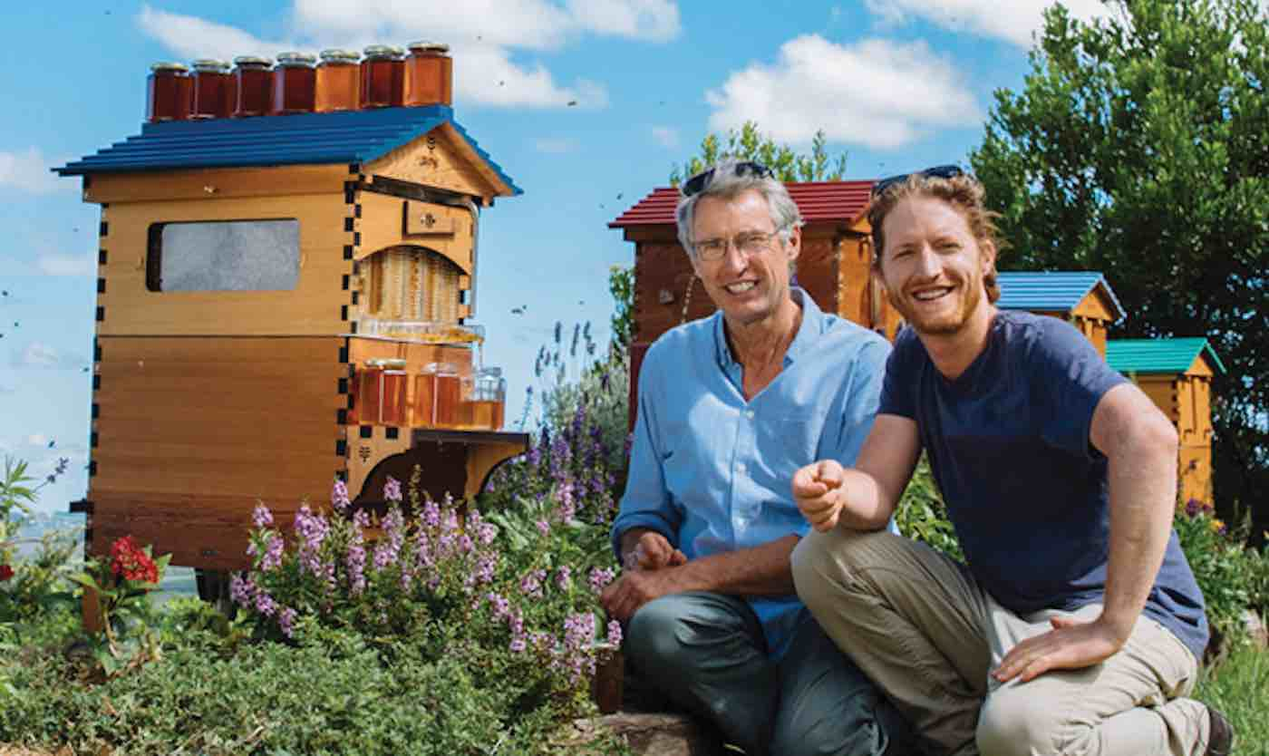 CATCH THE BUZZ – Since Father-Son Duo Designed Revolutionary 'Honey on Tap' Beehive, There Are 51,000 New Bee Colonies.