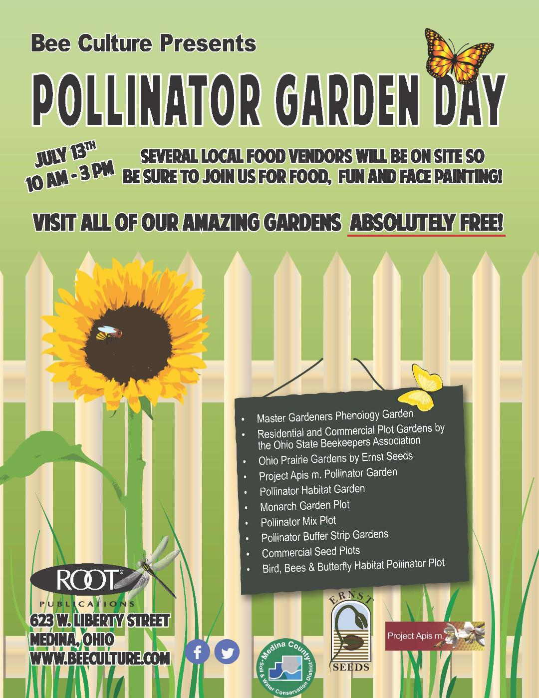 CATCH THE BUZZ – Don't Miss Bee Culture's Pollinator Garden Day