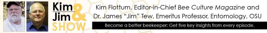 CATCH THE BUZZ – Listen in to Kim Flottum and Jim Tew discuss the issues with safety and liability for beekeepers and beeyards when a new subdivision moves in right next door to Jim's Beeyard! Yikes!!