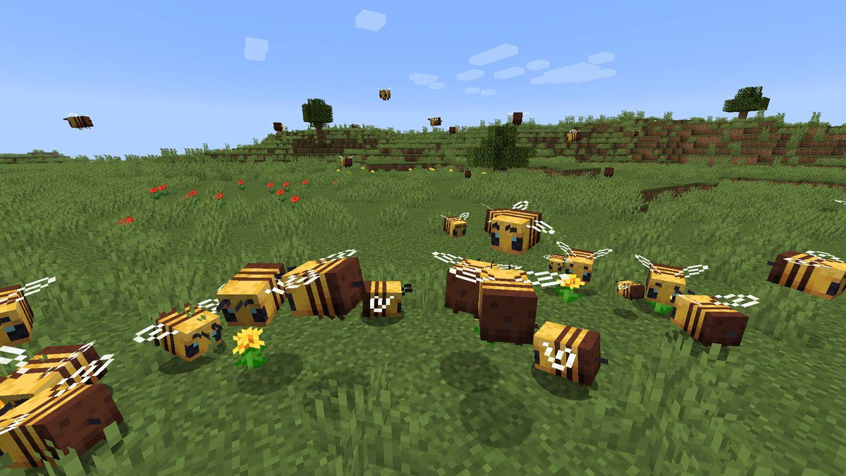 CATCH THE BUZZ – The Latest Addition to Minecraft Recently Has Been The Arrival of, You Guessed It, Bees! Everything You Wanted to Know.