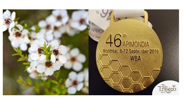 CATCH THE BUZZ – Australian Honey Abuzz With High-Value Antibacterial Activity, and, Cypriot Honey Best in the World.