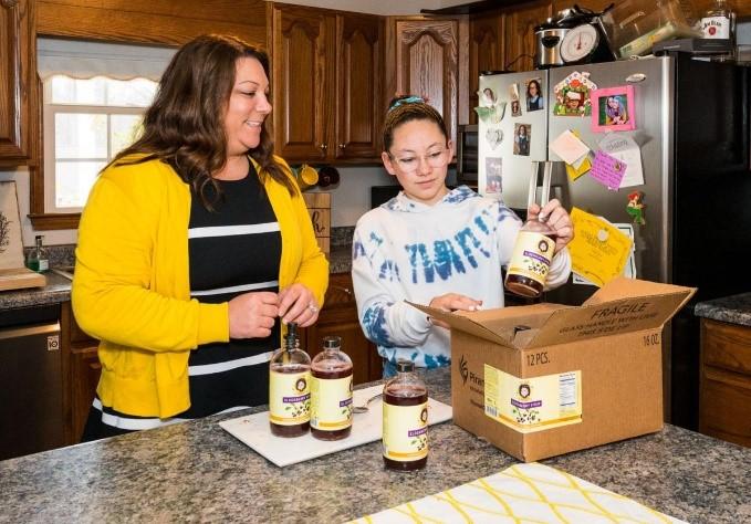 CATCH THE BUZZ- Honey, Berry Good Health