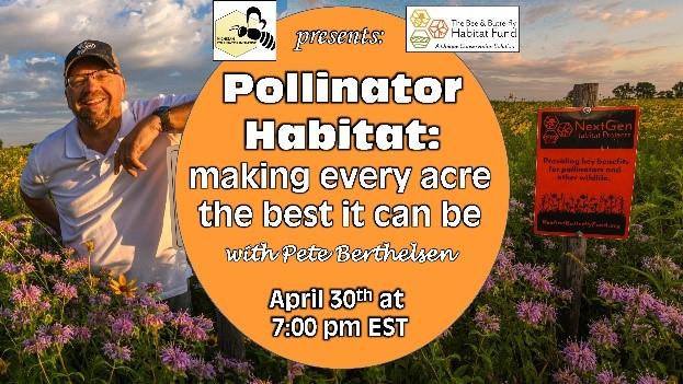 CATCH THE BUZZ – Pollinator Initiative Webinar