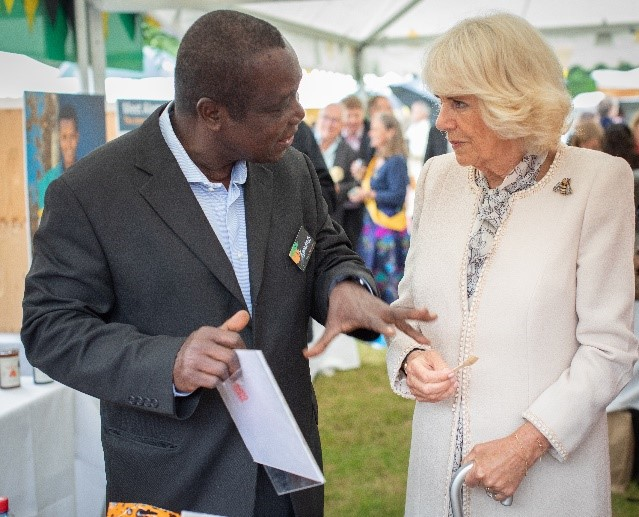 CATCH THE BUZZ – The Duchess of Cornwall New President