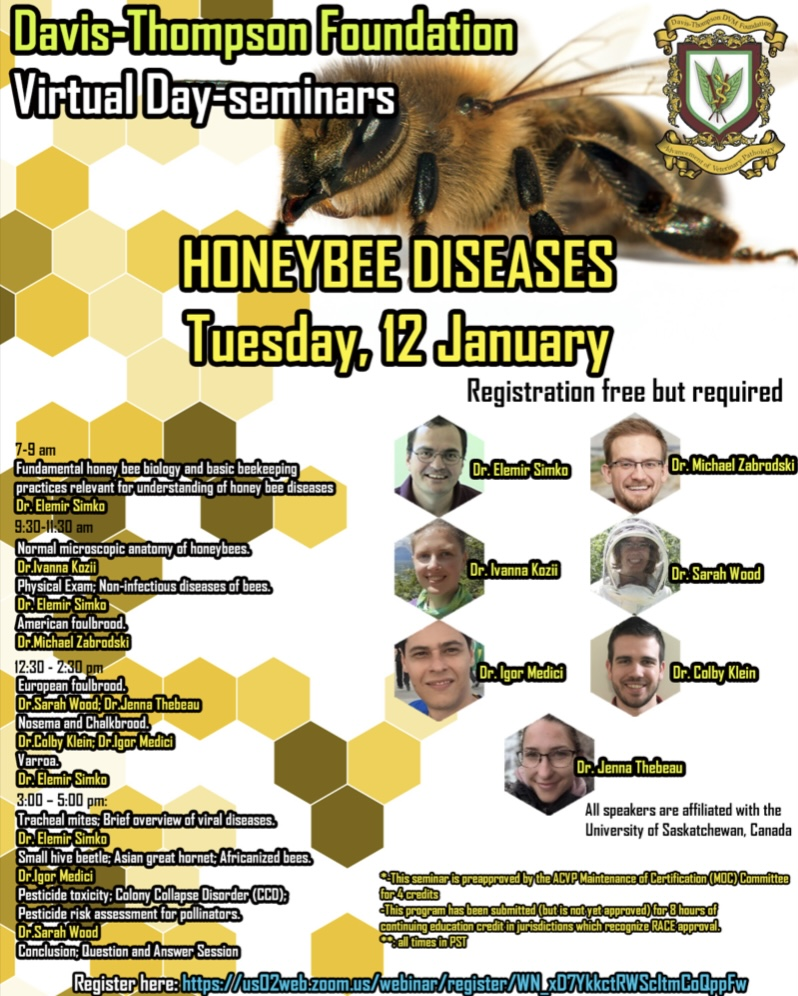 CATCH THE BUZZ – Honey Bee Disease Course-Free