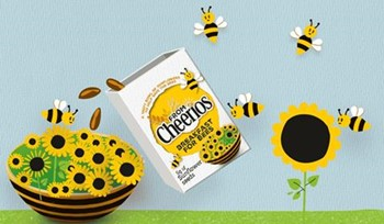 CATCH THE BUZZ- Save the Bees Campaign for Cheerios in the UK