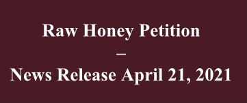 CATCH THE BUZZ – AHPA Raw Honey Petition